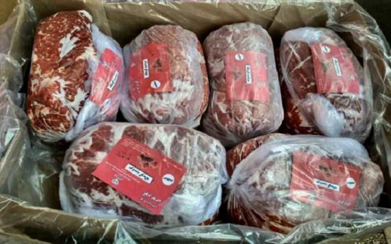 وجود ۱۸ هزار تن گوشت در بنادر