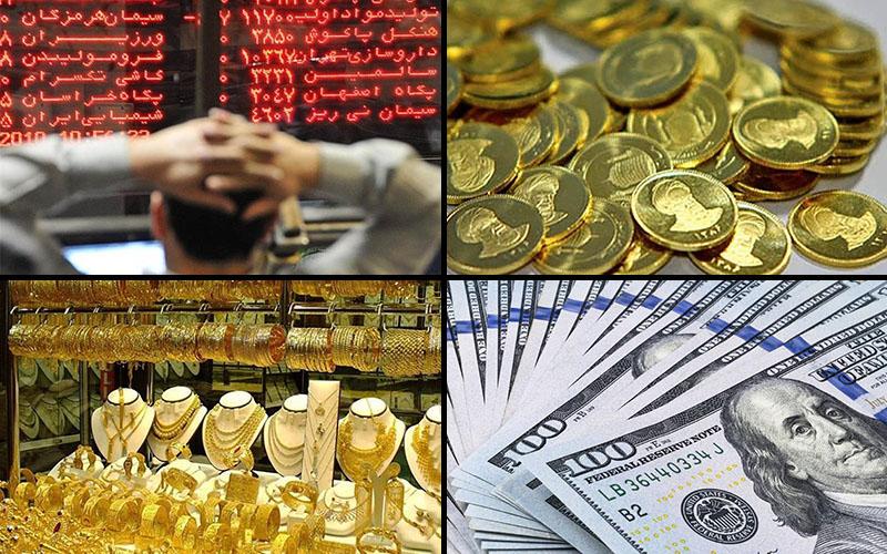 بازدهی بازارها در فروردین ماه امسال / بورس پربازدهترین سرمایهگذاری / طلا از سوددهی جا ماند