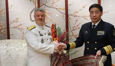 دعوت ایران از چین برای رزمایش مشترک دریایی