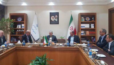 دیدار مدیرعامل و اعضای هیئتمدیره بانک توسعه تعاون با دکتر نوبخت