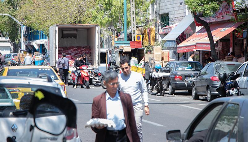 بازار کالاهای اساسی تهران به روایت یک گزارش تصویری