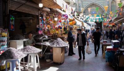 بازار شاه عبدالعظیم در آستانه ماه مبارک رمضان (گزارش تصویری)
