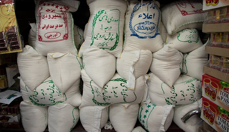 کاهش قیمت برنج ایرانی در بازار