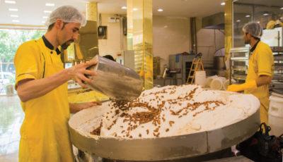 داستان تصویری از چگونگی تولید گز در اصفهان