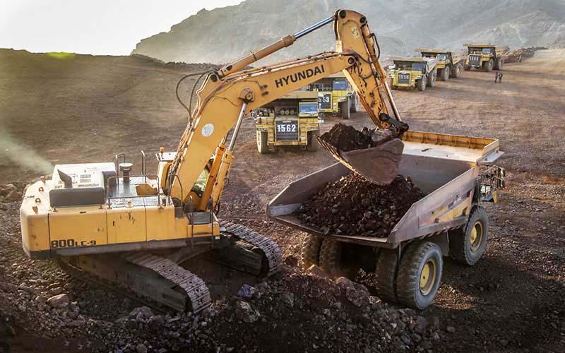صادرات 9 میلیارد دلاری محصولات معدنی در سال ۹۷