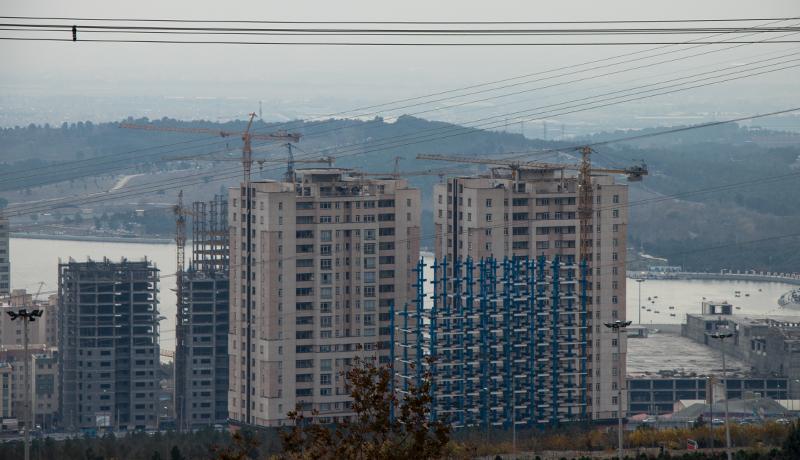 نمای جدید ساختوساز در تهران (گزارش تصویری)