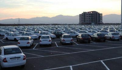 توقف ۱۶۰ هزار خودرو در انبار ۲ خودروساز