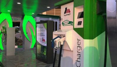 نخستین جایگاه شارژ خودروهای برقی در ایران افتتاح شد