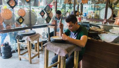 سکوت در بازاری که میراث پدری جوانان اصفهانی است (گزارش تصویری)