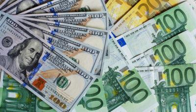 دلار و یورو ۱۰۰ تومان ارزان شدند /  قیمت ارز صرافی ملی ۹۸/۶/۲۴