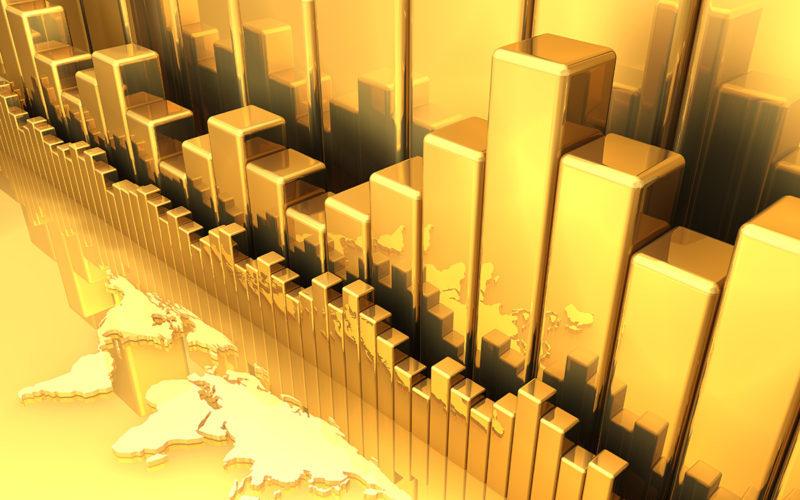 پیشبینی روند افزایشی قیمت طلا / فلز زرد در ۶ ماه آینده به ۱۵۵۰ دلار میرسد