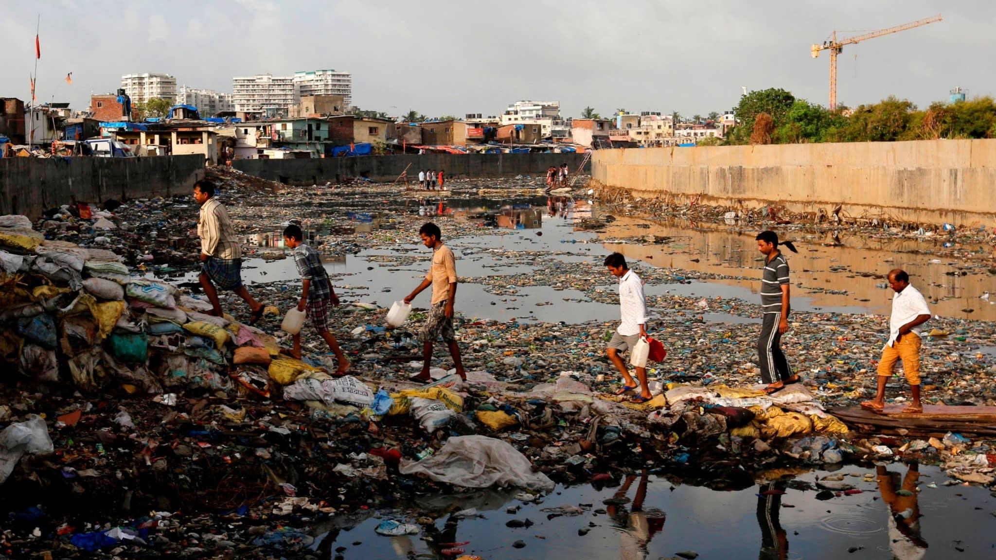 فقر در هند