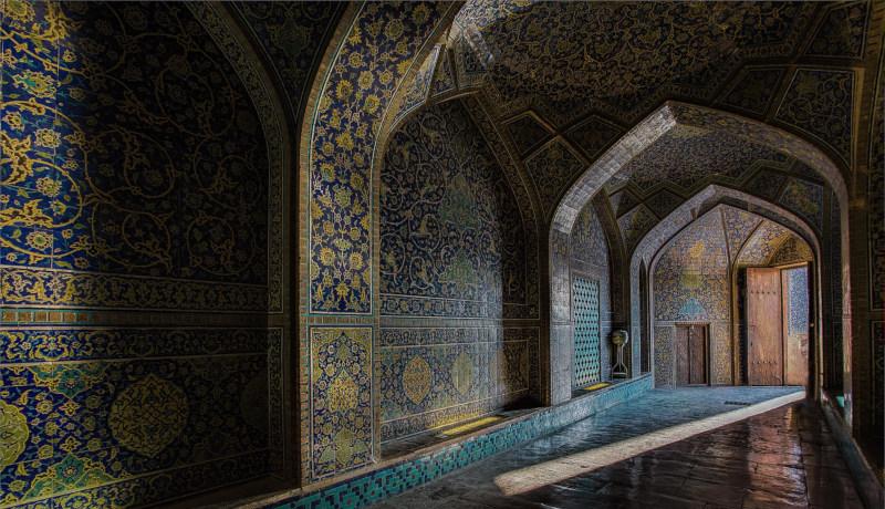 اصفهان مسجد زنان