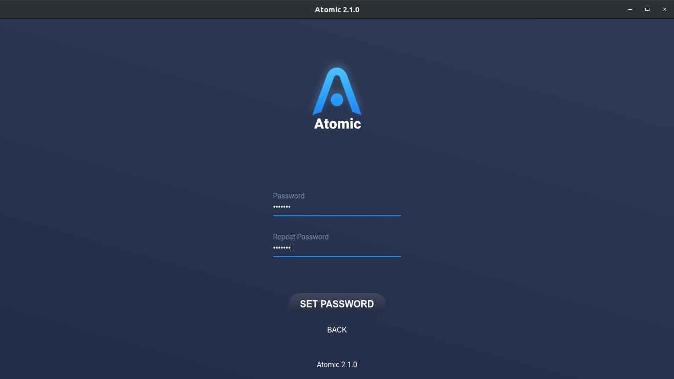 اتمیک والت Atomic Wallet