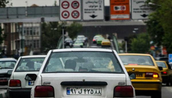 اخطار به خودروهای ساکن در بزرگراه