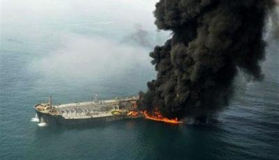 جزئیاتی از حادثه آتشسوزی دو فروند نفتکش / نجات ۴۴ دریانورد خارجی