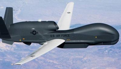 سپاه یک فروند پهپاد جاسوسی ۲۰۰ میلیون دلاری آمریکا را سرنگون کرد