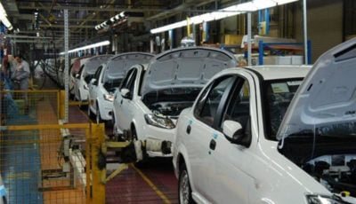 روند نزولی تولید خودرو ادامه دارد