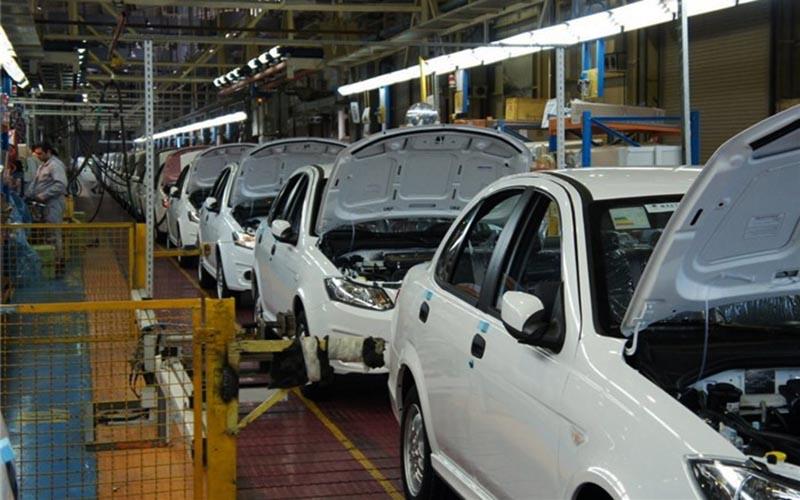 روند کاهشی تولید خودرو در بهار