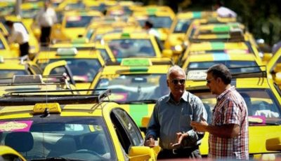 اعتراض تاکسیرانان تهران به فعالیت تاکسیهای آنلاین