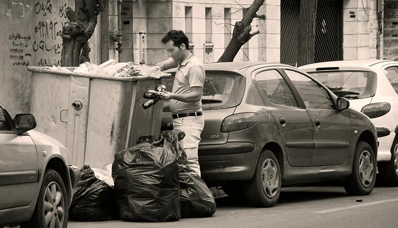 تجارت زباله در تهران به روایت یک اینفوگرافیک