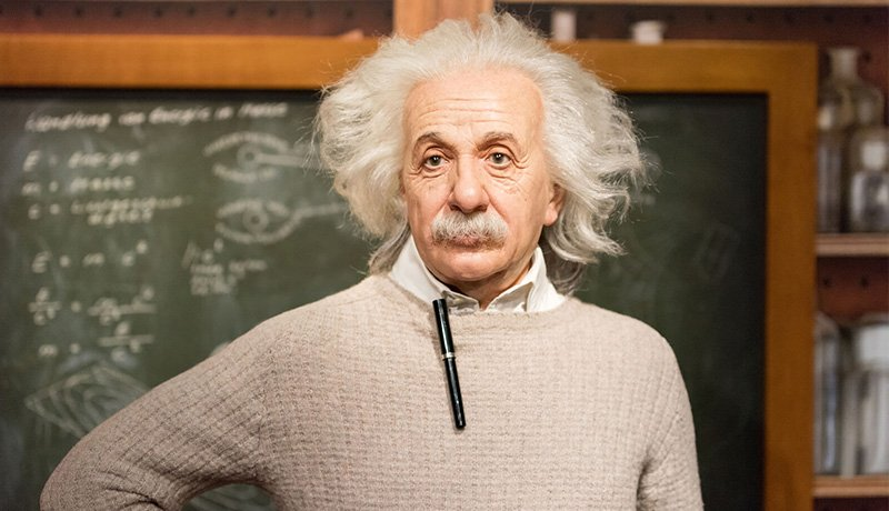 البرت انیشتین هوش ابله