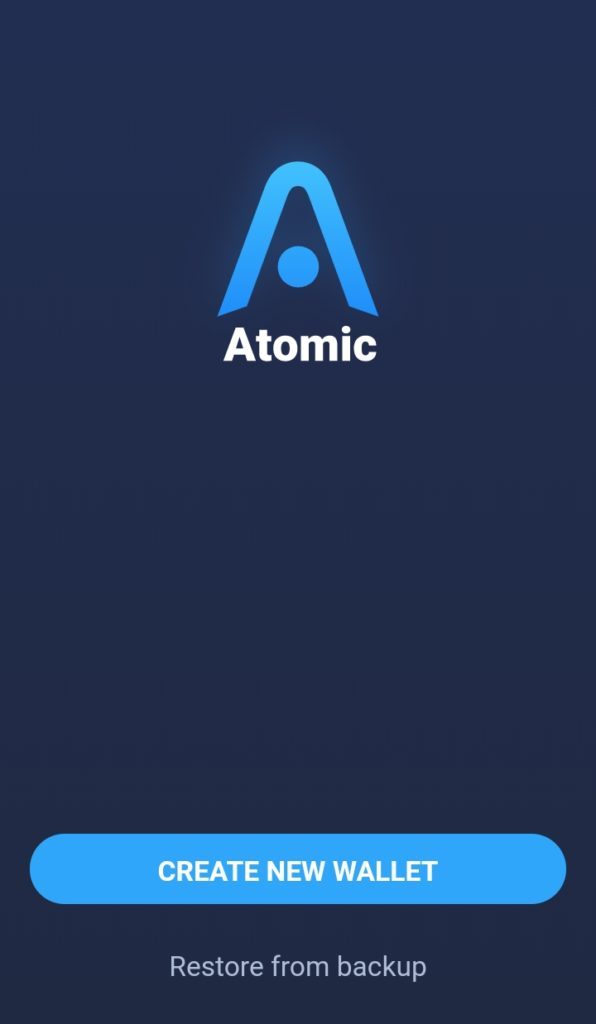 اتمیک والت اندروید Android Atomic Wallet