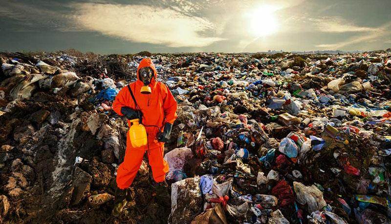 آلودگی زمین