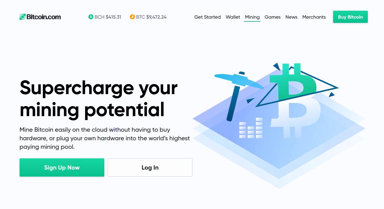 Bitcoin.com mining