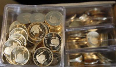 حباب سکه به ۱۰۰ هزار تومان افزایش یافت