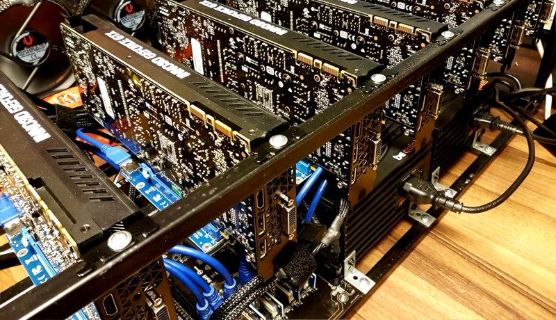 بیتکوین ماینینگ کامپیوتر