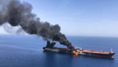 روایت اکونومیست از انفجار نفتکشها در دریای عمان