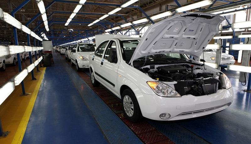 همه خودروهایی که تولید آنها کاهش یافت (اینفوگرافیک)