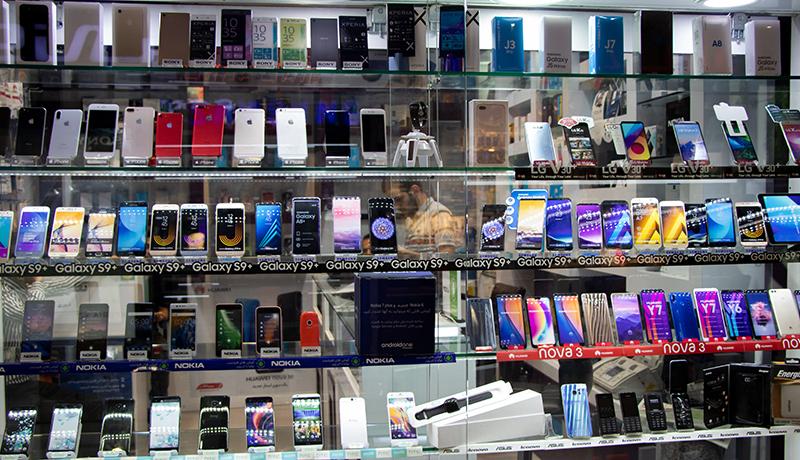 قیمت انواع گوشی امروز 5 آذر 99