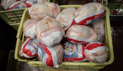 افزایش ۴۰۰ تومانی قیمت مرغ در بازار