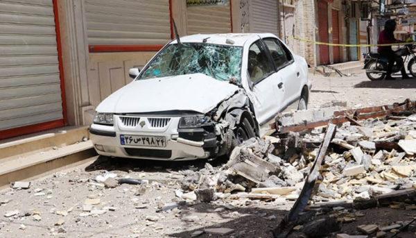 خسارات زلزله در روستای گلگیر مسجد سلیمان (گزارش تصویری)