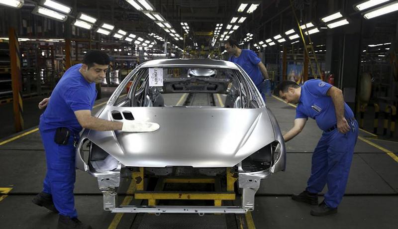 پیشتازان کاهش تولید خودرو / تولید آریو متوقف شد (اینفوگرافیک)