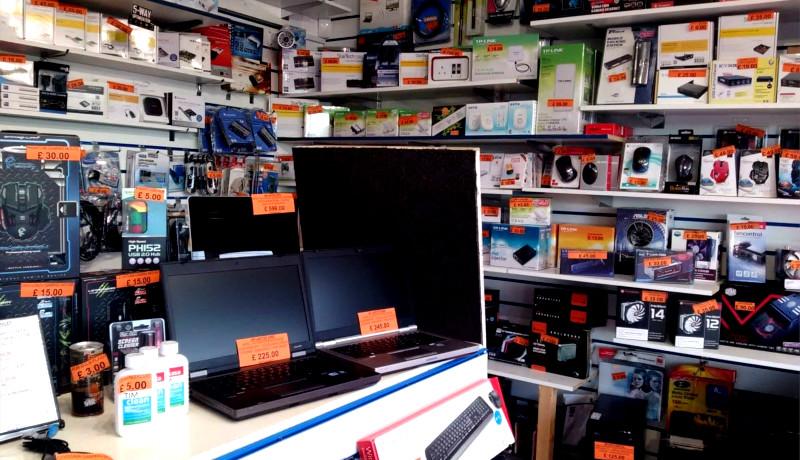 مغازه کامپیوتر