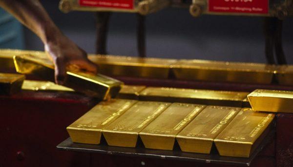 رشد یک درصدی طلا به دنبال افت سود اوراق قرضه