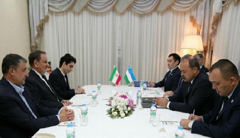 آمادگی تهران برای ارتقای سطح همکاریهای اقتصادی با تاشکند