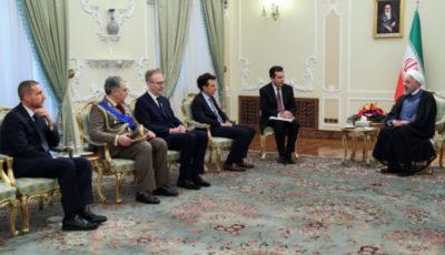 اراده ایران تقویت روابط بسیار نزدیک با ایتالیا است