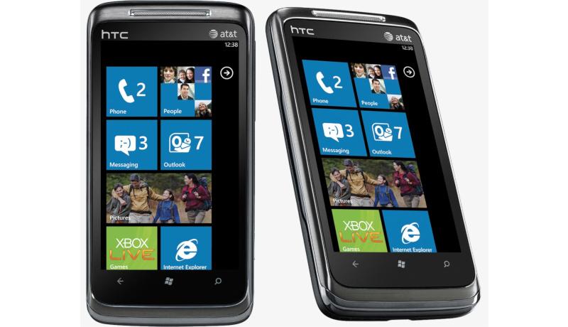 HTC 7 Surround windows phone