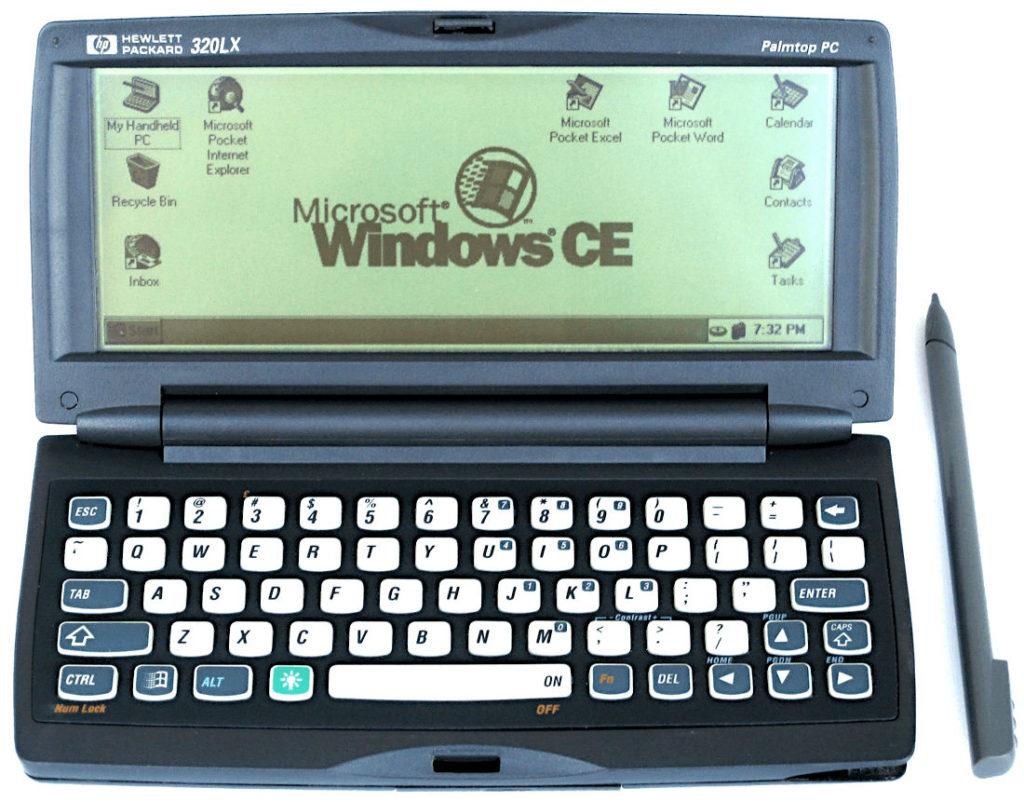 Microsoft handheld PC Windows CEE