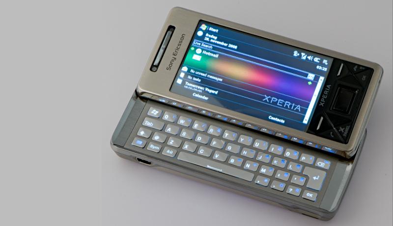Sony Ericsson Xperia X1 windows mobile