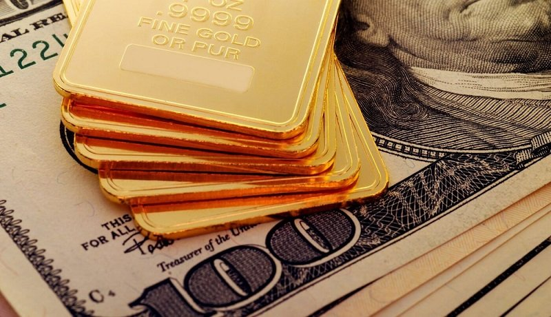 افت 0.3 درصدی قیمت طلا / شاخص دلار در بالاترین سطح 2 هفته گذشته