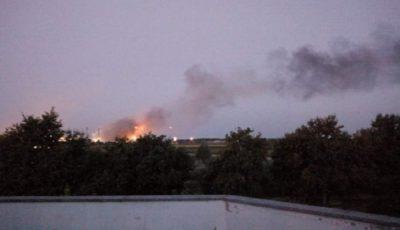 انفجار مهیب در یک پالایشگاه نفت در ایتالیا