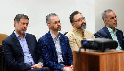 جلسه دادگاه رسیدگی به اتهامات علی دیواندری و ۸ متهم دیگر