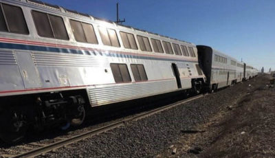 ۳۵ مصدوم و سه کشته، بر اثر خروج قطار زاهدان-تهران از ریل