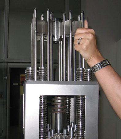 میلههای کنترلکننده راکتور هستهای