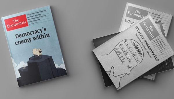 روایت اکونومیست از افول دموکراسی در غرب (پادکست)